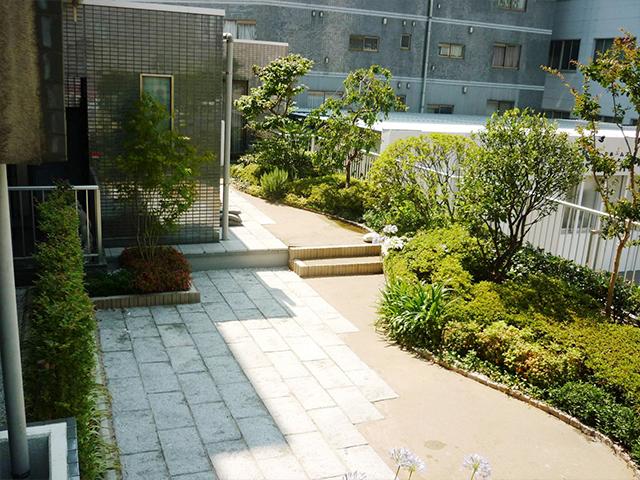 M様邸(東京都江東区)屋上庭園工事の画像