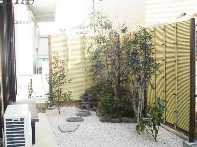 Y様邸(千葉市緑区)造園工事の画像