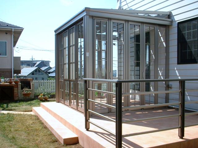 C様邸(千葉市緑区)テラス・ガーデンルーム工事の画像
