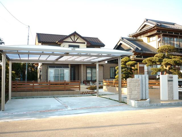 H様邸(千葉県東金市)外構・造園工事の画像