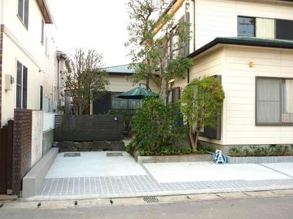 S様邸(千葉県浦安市)造園・外構リフォーム工事の画像