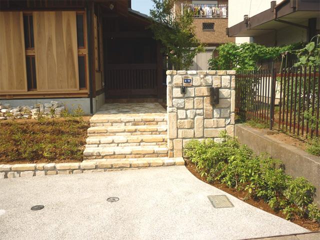 N様邸(千葉市若葉区)外構工事の画像