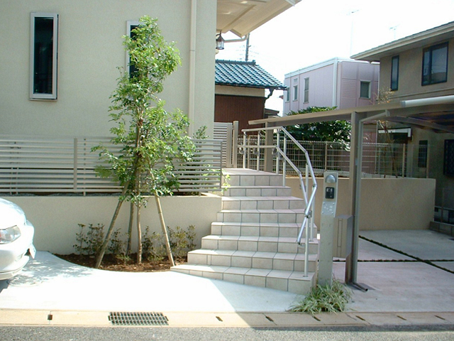 T様邸(千葉市若葉区)外構工事の画像