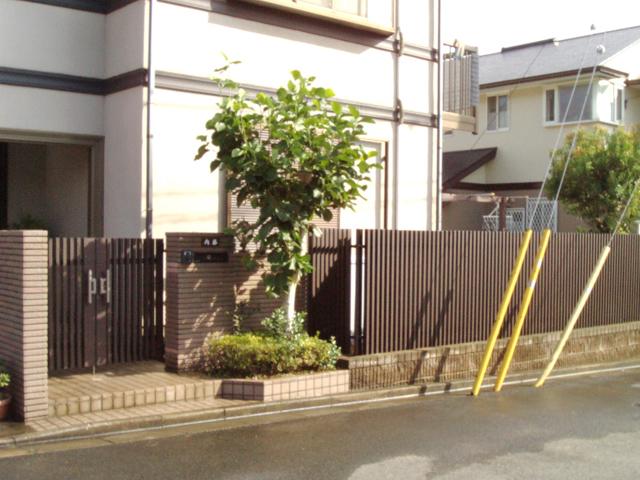 N様邸(千葉市緑区)門扉・フェンスリフォーム工事の画像