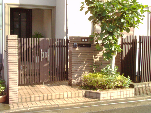 N様邸(千葉市緑区)門扉・フェンスリフォーム工事の画像4