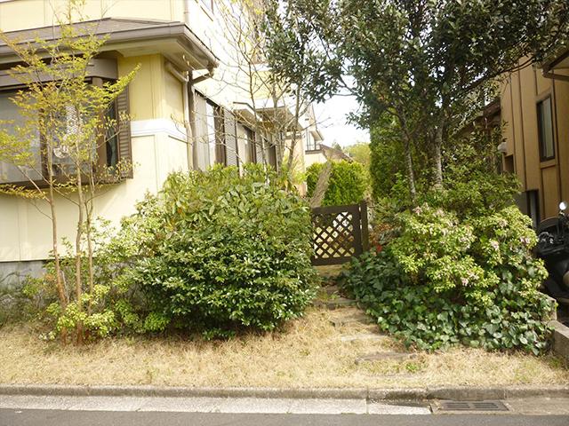 K様邸(千葉市緑区)造園工事のbefore画像