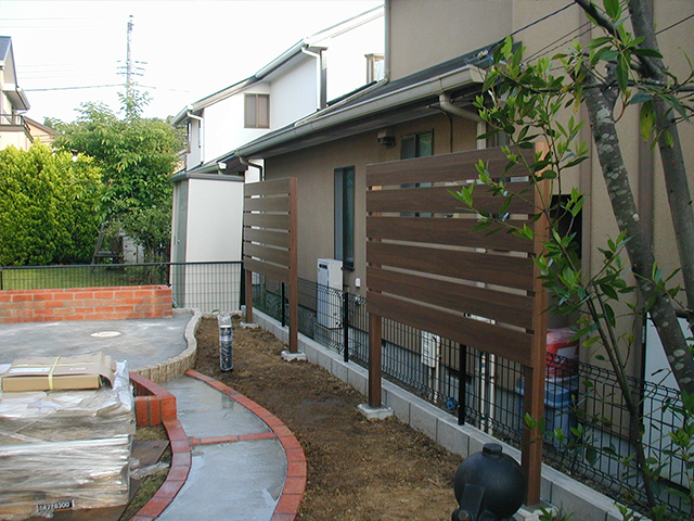 K様邸(千葉市緑区)造園工事の画像2