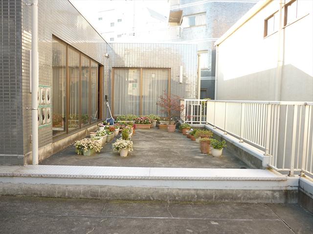 M様邸(東京都江東区)屋上庭園工事のbefore画像