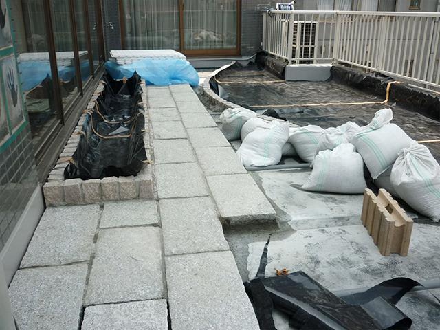 M様邸(東京都江東区)屋上庭園工事の画像3