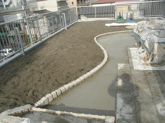 M様邸(東京都江東区)屋上庭園工事の画像5