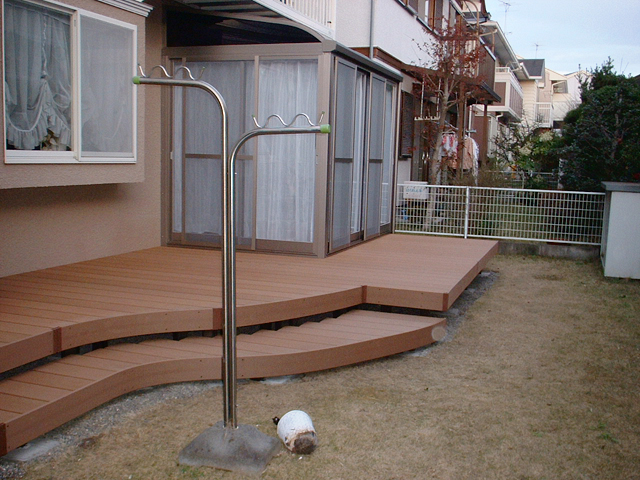 O様邸(千葉市緑区)デッキ・ガーデンルーム工事の画像