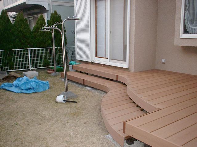 O様邸(千葉市緑区)デッキ・ガーデンルーム工事の画像4