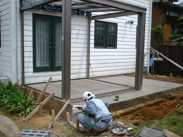 C様邸(千葉市緑区)テラス・ガーデンルーム工事の画像4