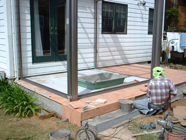 C様邸(千葉市緑区)テラス・ガーデンルーム工事の画像5
