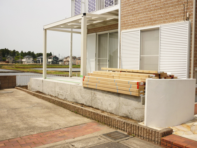 A様邸(千葉県茂原市)ガーデンルーム工事の画像2