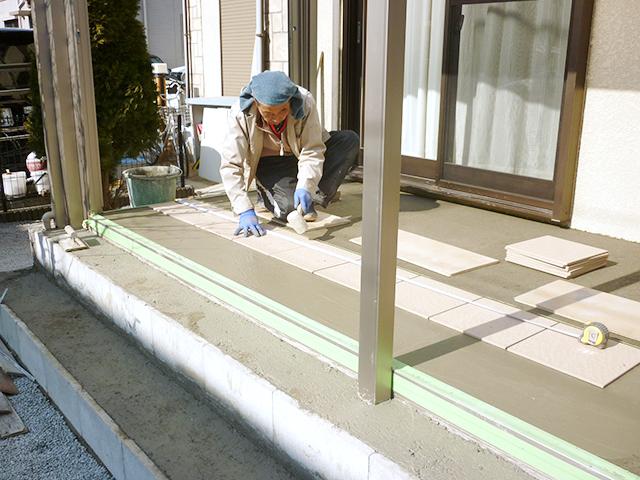 O様邸(千葉県佐倉市)ガーデンルーム工事の画像4