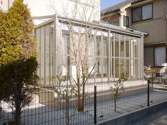 O様邸(千葉県佐倉市)ガーデンルーム工事の画像