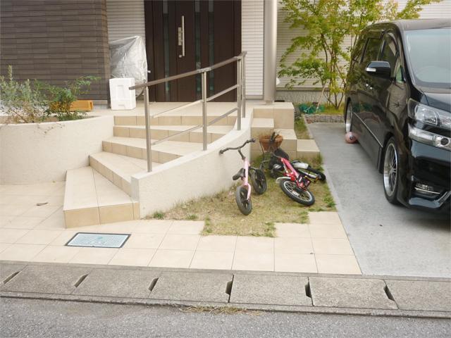 O様邸(千葉県茂原市)舗装工事のbefore画像