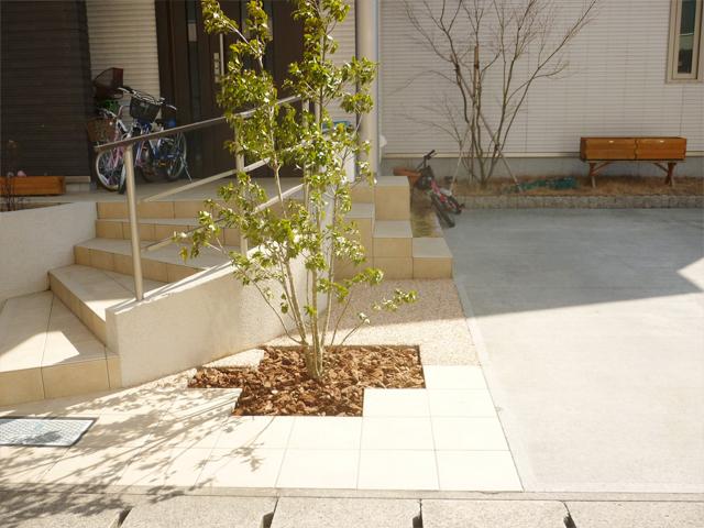 O様邸(千葉県茂原市)舗装工事の画像
