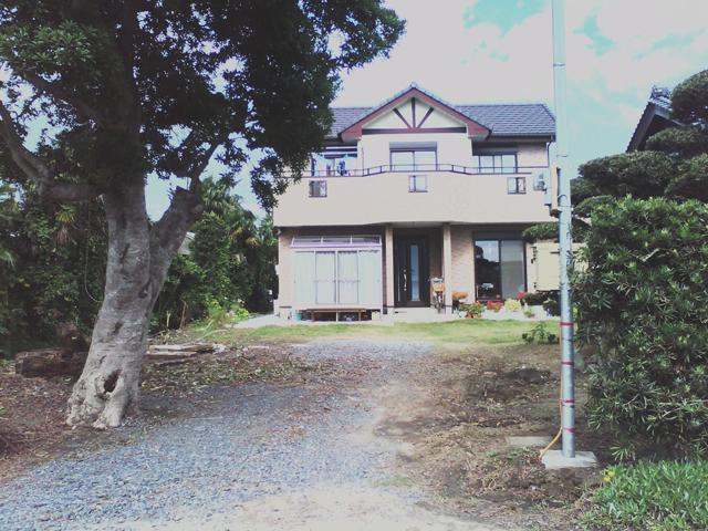 H様邸(千葉県東金市)外構・造園工事のbefore画像