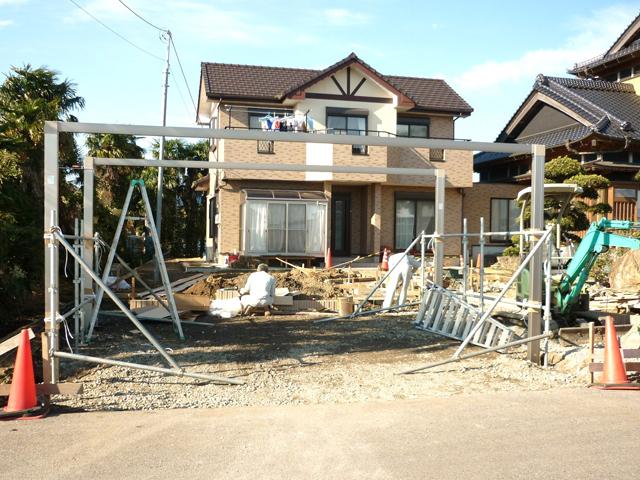 H様邸(千葉県東金市)外構・造園工事の画像5