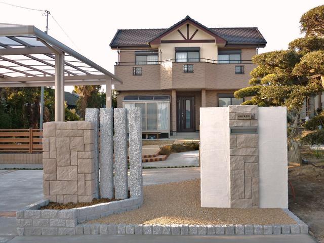 H様邸(千葉県東金市)外構・造園工事の画像9