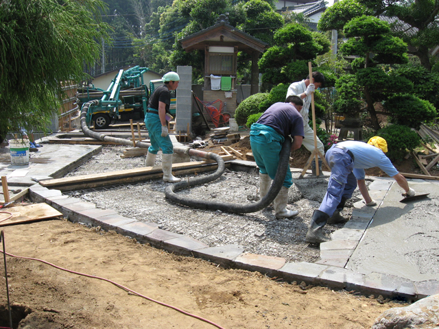 U様邸(千葉県多古町)外構・造園リフォーム工事の画像9