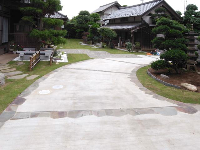 U様邸(千葉県多古町)外構・造園リフォーム工事の画像11
