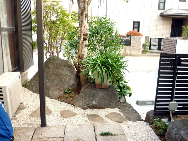S様邸(千葉県浦安市)造園・外構リフォーム工事の画像9