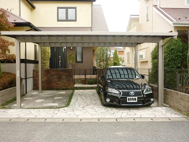 A様邸(千葉県大網白里市)カーポート工事の画像