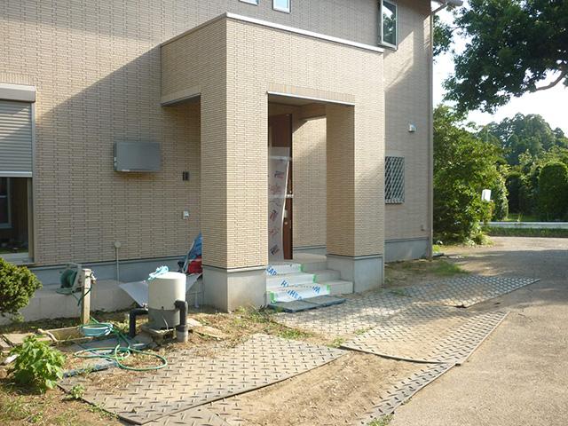 O様邸(千葉県市原市)外構工事のbefore画像