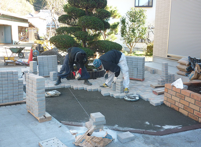 O様邸(千葉県市原市)外構工事の画像2