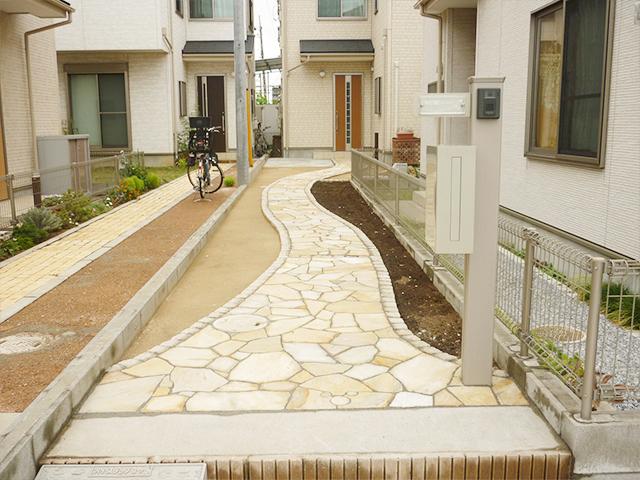 M様邸(千葉市中央区)アプローチリフォーム工事のafter画像