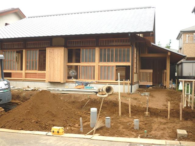 N様邸(千葉市若葉区)外構工事のbefore画像