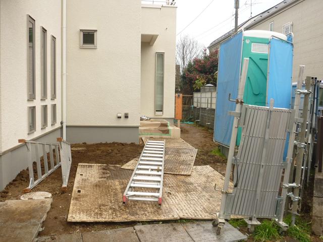 T様邸(千葉県市川市)外構工事のbefore画像