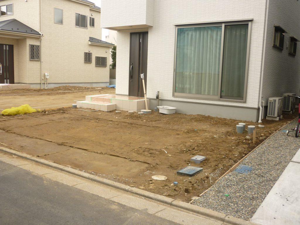 Y様邸(千葉市中央区)外構・造園工事のbefore画像