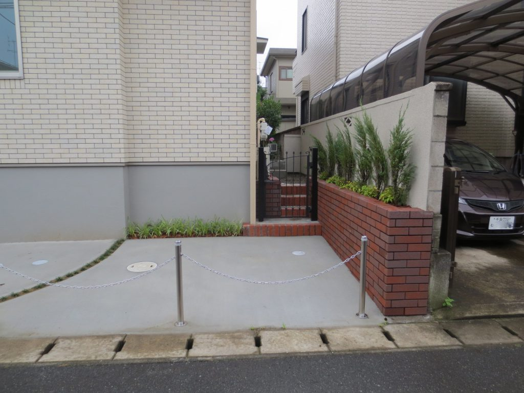 S様邸(千葉市若葉区)外構・造園工事の画像15
