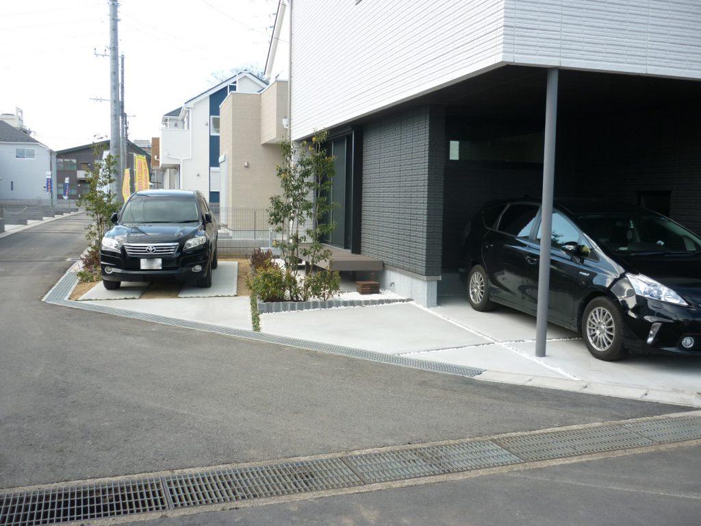 H様邸(千葉市中央区)外構工事の画像2