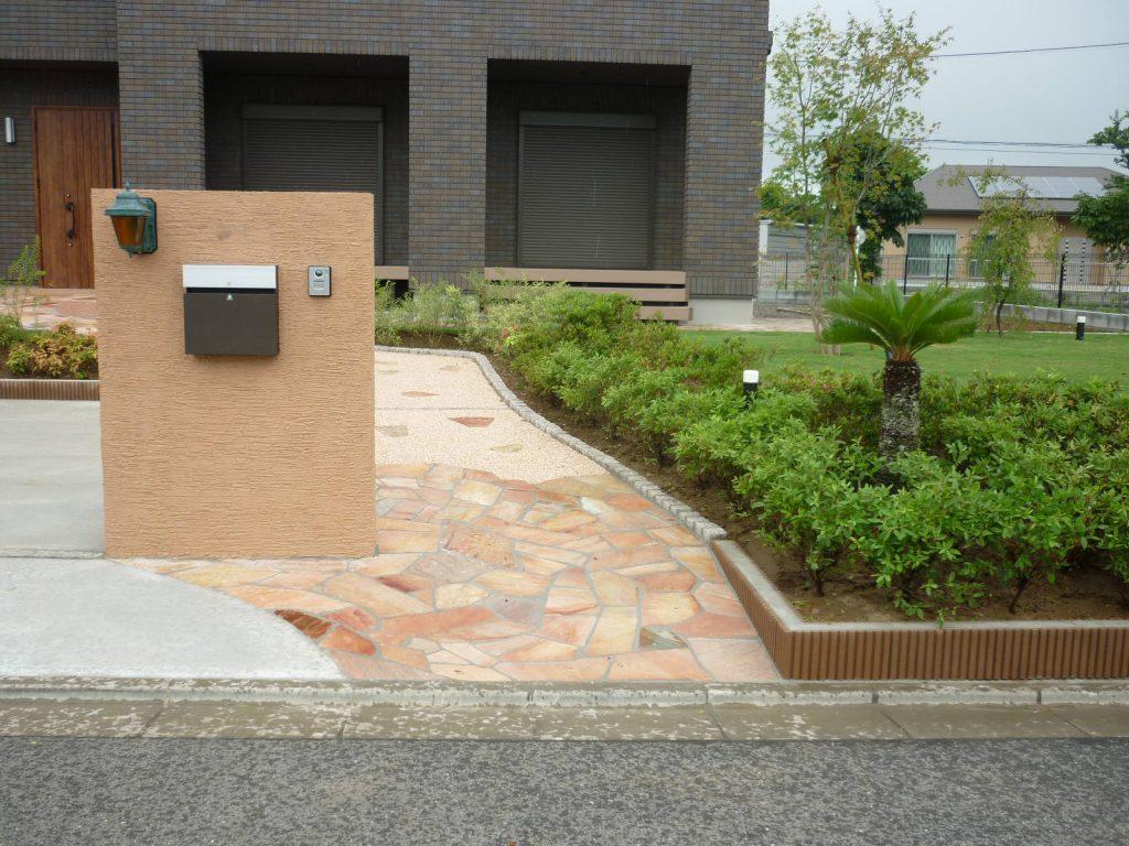 M様邸(千葉県東金市)外構・造園工事の画像2