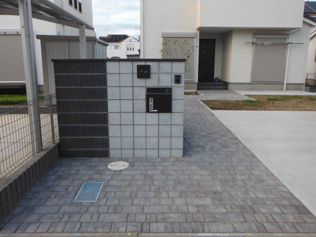 O様邸(千葉県茂原市)外構工事の画像2