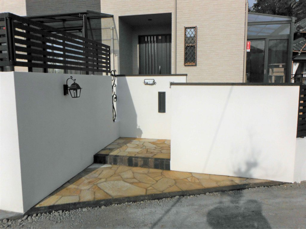 H様邸(千葉県東金市)外構工事の画像