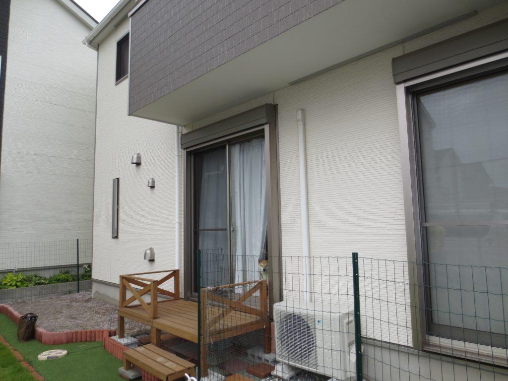 K様邸(千葉市緑区)ガーデンルーム工事のbefore画像