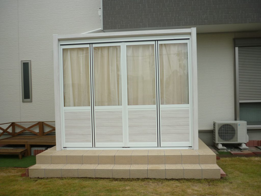K様邸(千葉市緑区)ガーデンルーム工事の画像2