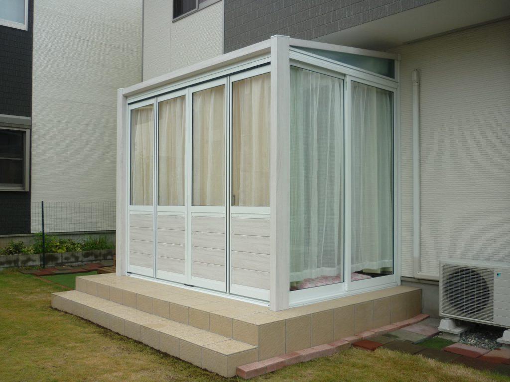 ガーデンルーム ハピーナの施工例を追加しました。の画像