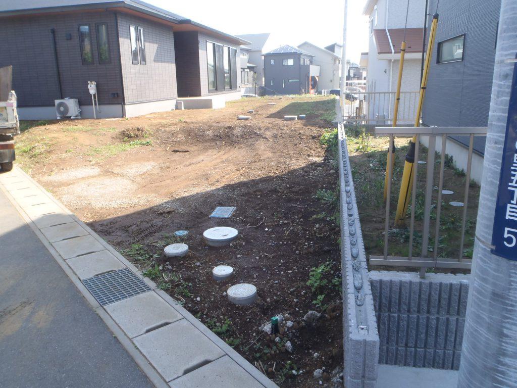 H様邸(千葉県四街道市)外構工事のbefore画像