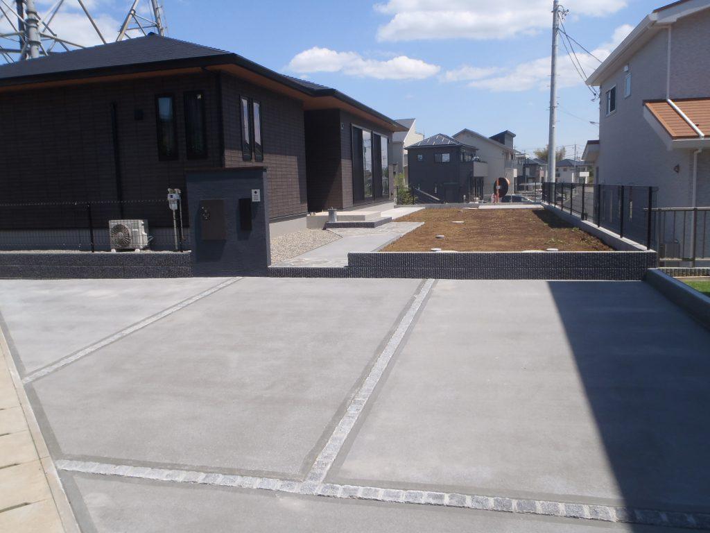 H様邸(千葉県四街道市)外構工事の画像2