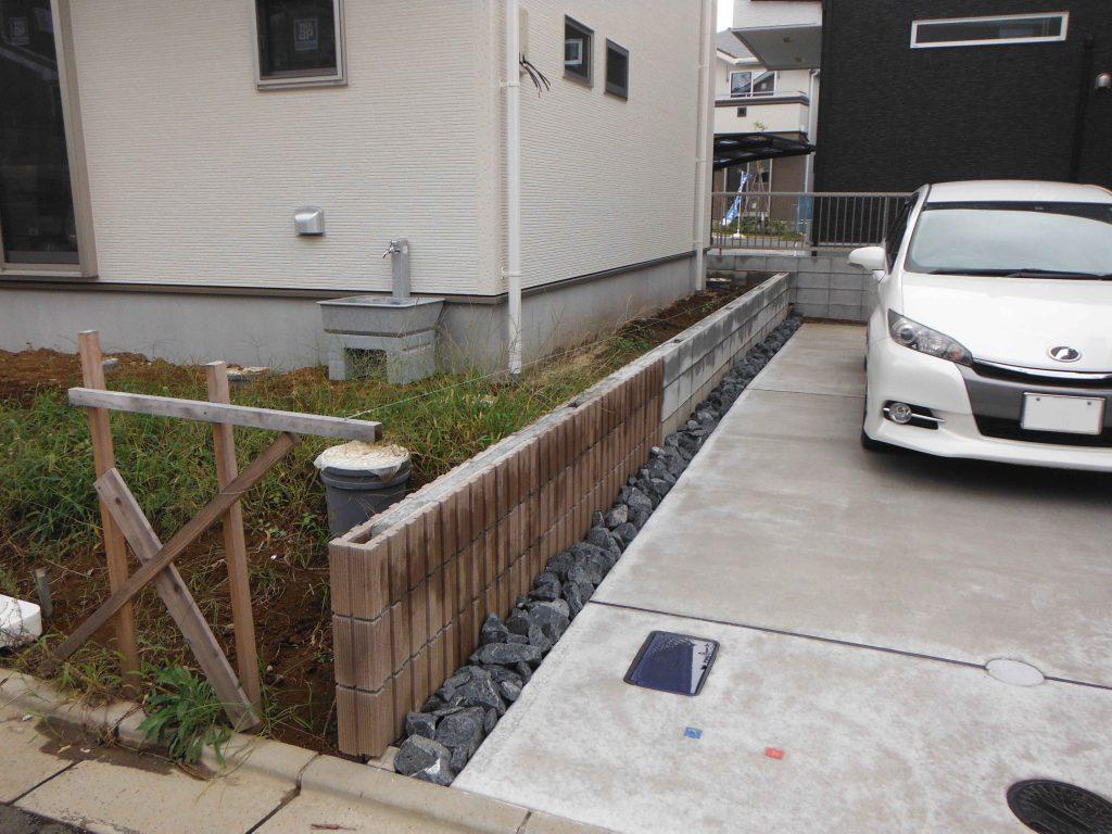 T様邸(千葉市緑区)外構工事の画像3